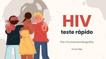 Teste rápido de HIV por imunocromatografia - Imunologia I