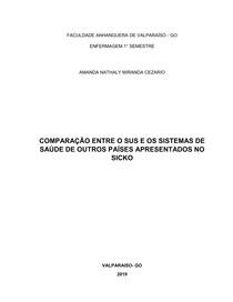TRABALHO SICKO- FORMAÇÃO INTEGRAL EM SAUDE (corrigido)