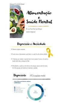 Alimentação e Saúde Mental