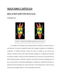 CAPÍTULO 2 RELACIONAMENTO OCLUSAL