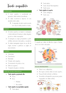 Tecido conjuntivo - Resumo MED VET