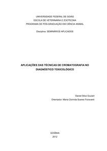 cromatografiaaplicada a toxicologia