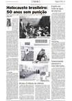Holocausto brasileiro - 50 anos sem punição