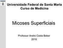 8.Micoses Superficiais sf