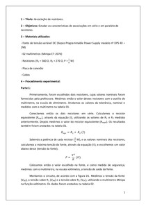 Relatório IV - Lab. Física III