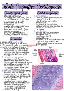 Tecido conjuntivo cartilaginoso | CA I MICRO