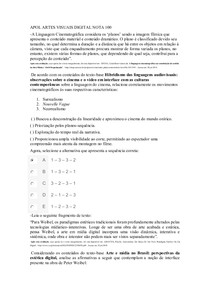 APOL ARTES VISUAIS PRATICA PROFISSIONAL DIGITAL