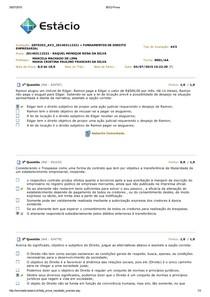 AV3 » FUNDAMENTOS DE DIREITO EMPRESARIAL