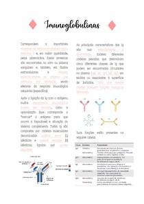 Imunoglobulinas - Imunologia