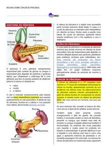 Resumo - Câncer de Pâncreas