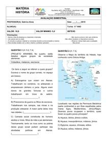 HISTÓRIA ANTIGA _ GRÉCIA E ROMA _ AVALIAÇÃO