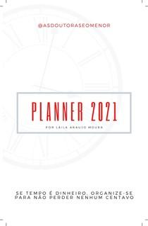 Planner para organização dos estudos, trabalho e finanças