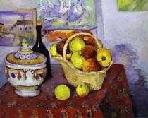 Paul Paul Cézanne - Still Life with Tureen