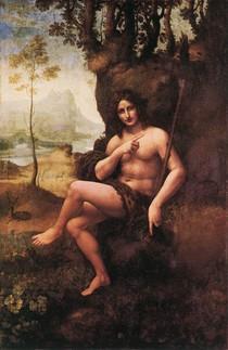 Leonardo Da Vince - St Johnin the Wilderness-