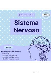 Resumo Sistema Nervoso 1 {por @odonto.universitario}