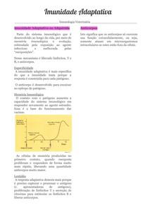 Imunidade Adaptativa 3 1 - Imunologia
