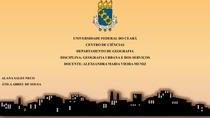Analise temática - Cap2 do Livro A cidade Contemporânea _ Processos e Formas Socioespaciais na cidade