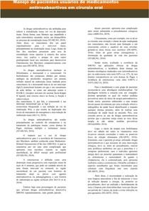 MANEJO DE PACIENTES USUÁRIOS DE MEDICAMENTOS ANTIRREABSORTIVOS EM CIRURGIA ORAL