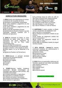 GEOBRASIL - AGRICULTURA BRASILEIRA