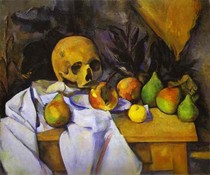 Paul Paul Cézanne - Still Life with Skull