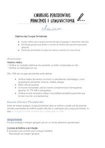 Cirurgias Periodontais: Gengivectomia e gengivoplastia