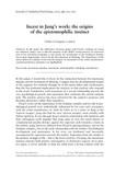 JUNG- the origins of the epistomophilic instinc