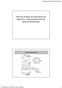 Dimensionamento Rede Distrib PB
