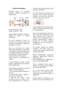 Tolerância imunológica e autoimunidade