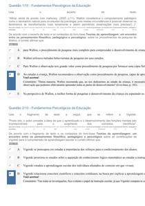 APOL2 FUNDAMENTOS PSICOLÓGICOS DA EDUCAÇÃO doc