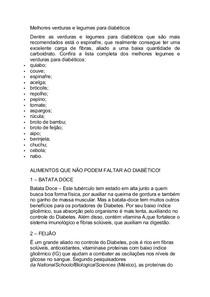 lista de frutas permitidas para diabéticos