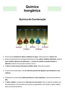 Química Inorgânica 06 - Química de Coordenação