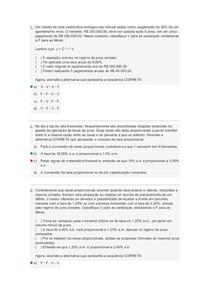 prova matematica financeira ll