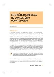 Emergências Méd no Cons Odon