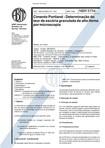 NBR 5754   Cimento Portland   Determinacao de teor de escoria granulada de alto forno por microsc