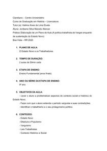 Projeto - História do Brasil -República