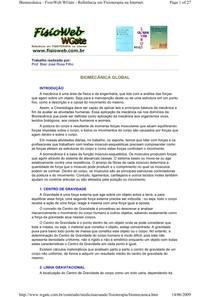 Cinesiologia de MMSS e MMII