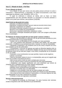 Apostila PROVA II PCI III 2014.1