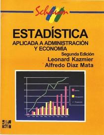 Estadísstica aplicada a administracíon y economía 2a Edicion (Espanhol)   Leonard J. Kazmier