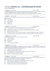 Av 2014 2 CONTABILIDADE DE CUSTOS