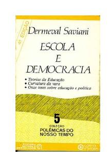 Escola E Democracia Pdf
