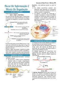 Thompson cap 2 - transcrição, tradução, replicação, funções celulares