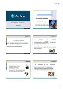 Intr. à Economia 1 - 5