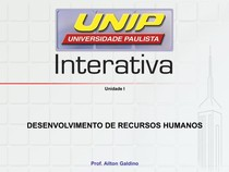 Slides desenvolvimentos de recursos humanos UNIP