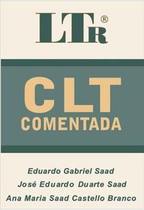 EDUARDO GABRIEL SAAD 0 Direito do Trabalho   CLT comentada