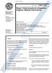 NBR 09168   1994   Níquel   Determinação de Nitrogênio e Oxigênio   Método Instrumental