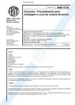 NBR 5738   concreto   procedimentos p moldagem e cura de corpos de prova