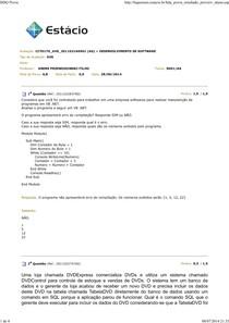 AVS 28.06.201 - Desenvolvimento de Software