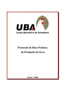 Protocolo de Boas Práticas - Poedeiras Embrapa