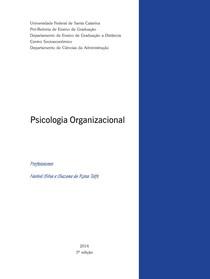 Livro texto Psicologia Organizacional