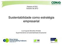 IETEC - Sustentabilidade como Estratégia Empresarial
